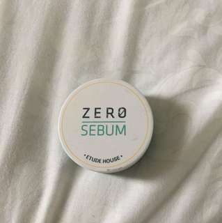 Etude House Zero Sebum