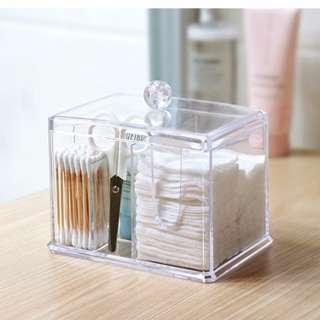 Acrylic Essentials Storage Organiser Box