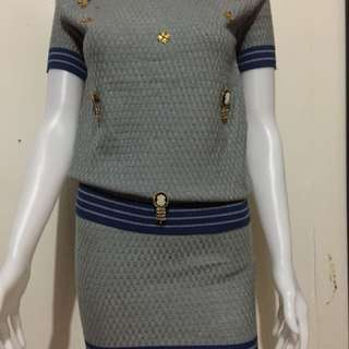 Ladies knitted Terno