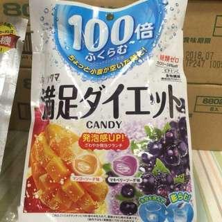 日本🇯🇵100倍飽足減肥糖🍬