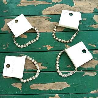 New Look Diamond Bracelets / SALE