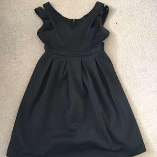 ASOS Curve Black Formal Dress Size 20