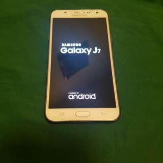 Samsung galaxy J7 2015 model same new