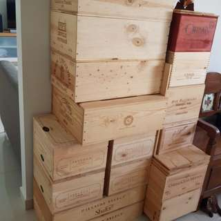Wine Crates (assorted)
