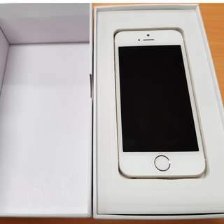 Unlocked iPhone 5s Gold 16GB - 6 Months Warranty - Tax Invoice