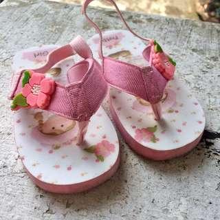 Sandal Bayi Khakikakiku