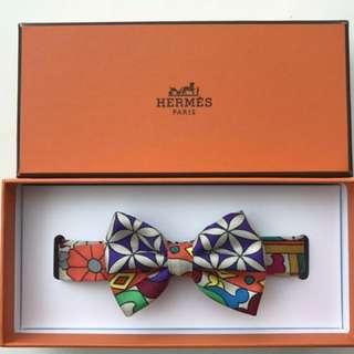 Hermes Carmen bow-tie