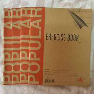 1111 NEW Popular Big Squares Exercise Book