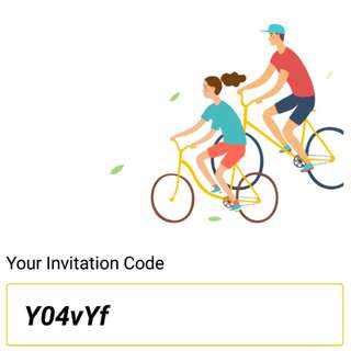 Free $5 ofo bike invitation code Y04vYf