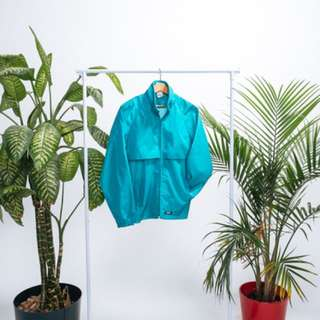 Teal Me Away Brooks windbreaker