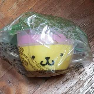Macdonalds Pompompurin Hello Kitty Tea Cup / Squishy