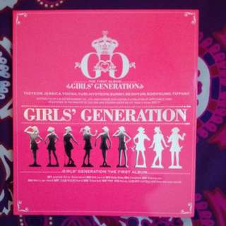 SNSD Girls Generation First Album