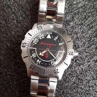 Komandirskie K35 Stainless Steel Automatic True 24H Watch