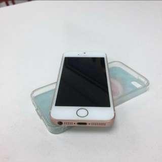 I phone SE 64G 玫瑰金