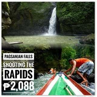 PAGSANJAN FALLS - SHOOTING THE RAPIDS