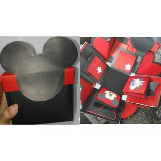 Mickey Mouse Explosion Box