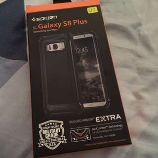 Spigen Rugged Armor Extra for s8 plus