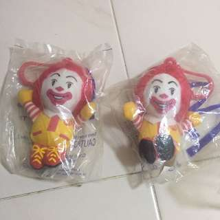 McDonald's soft figures