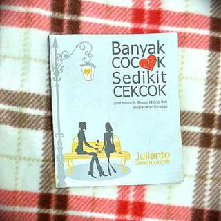 Banyak Cocok Sedikit Cekcok (by Julianto Simanjuntak)