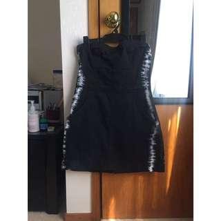 O'Neill Strapless Jean Dress