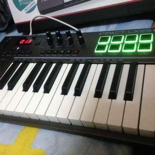 IMPACT LX25+ midi keyboard