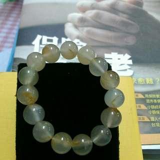 黃玉髓手串環