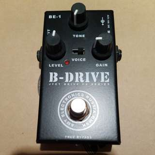 B-Drive Jfet Drive Fx Series Guitar Distortion Pedal 結他effect效果器 (Made in Russia)