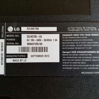 LG 32寸 Smart TV