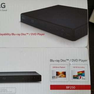 LG 籃光機 BP250  blu-ray disc/dvd player