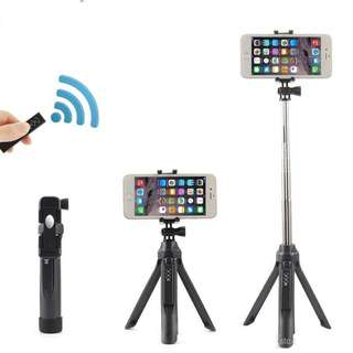 All in One Wireless Multifunction Bluetooth Selfie Stick Tripod