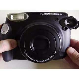Fujifilm Instax Wide 210 Camera (Black)