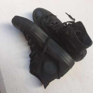 Converse Black  (Size 11)