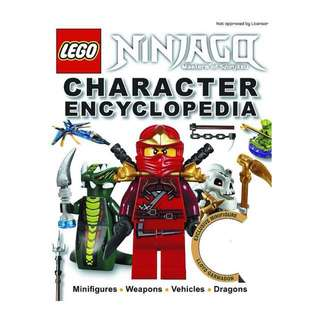 DK Book LEGO Ninjago Character Encyclopedia