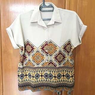 Women ethnic blouse top