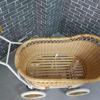 Vintage Bassinet Stroller