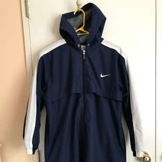 Nike Swim Parka Youth - Navy (SMALL)