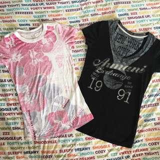 authentic armani exchange shirts