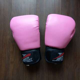 Pink Boxing Gloves (10 oz)