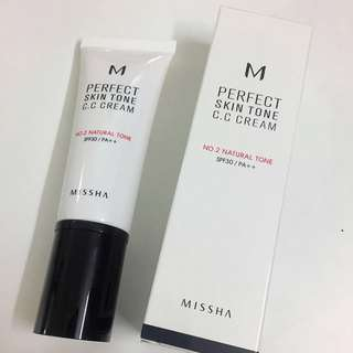 MISSHA PERFECT SKIN TONE C.C CREAM