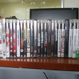 PS3 Games $10-$15 each
