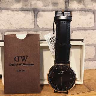 Free ongkir! ORIGINAL Daniel Wellington Black Gold