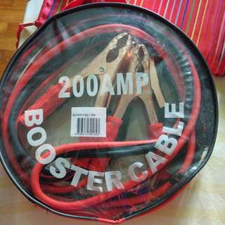 BNIB 200amp booster cable