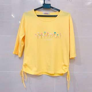 Jersey Top (Yellow)