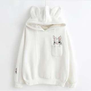 兔仔刺繡衛衣