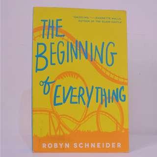 The Beginning of Everything by Robyn Schneider