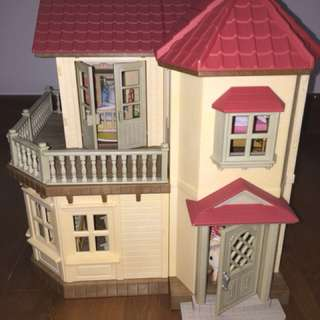 Sylvanian family - fully furnished house