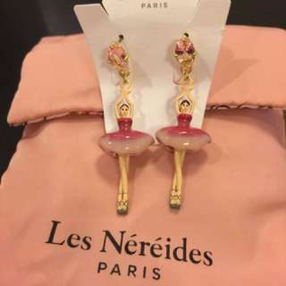 Les Nereides 芭蕾女孩耳環