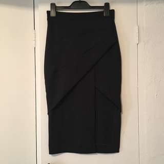 Maurie & Eve black skirt