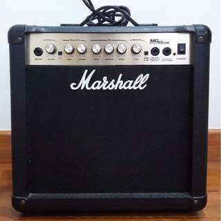Marshall MG15CDR - 15W Electric Guitar Solid State Amplifier
