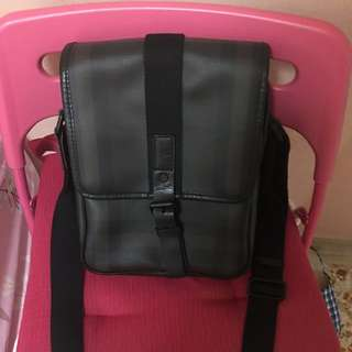 Burberry Leather Sling Bag
